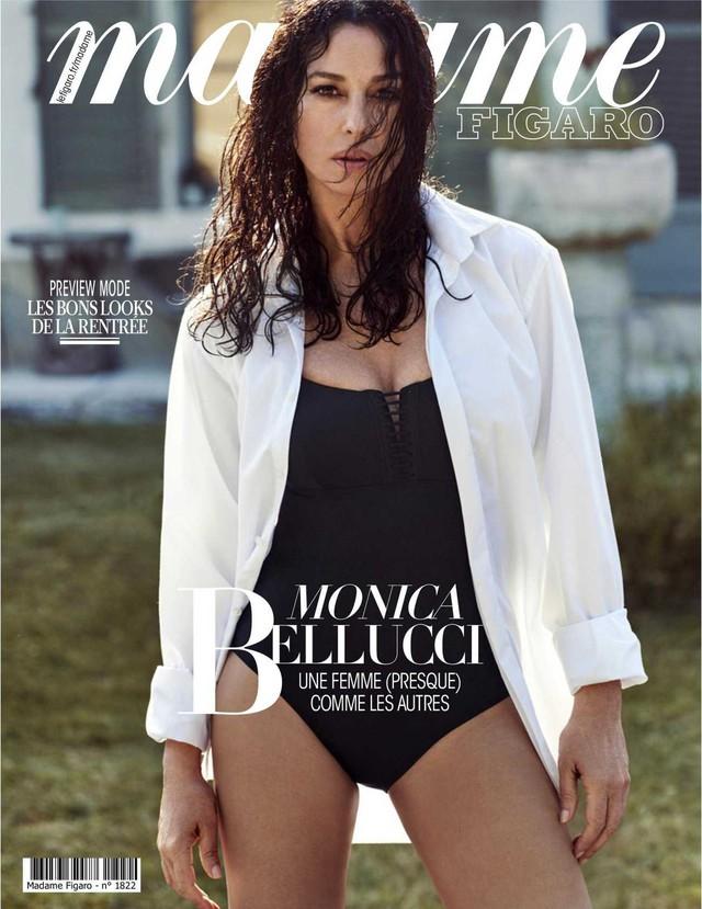 54 tuổi, Monica Bellucci vẫn khiến cánh mày râu điêu đứng - Ảnh 8.