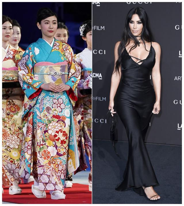 Người Nhật Bản phẫn nộ về việc Kim Kardashian lấy tên Kimono làm nhãn hiệu nội y - Ảnh 1.