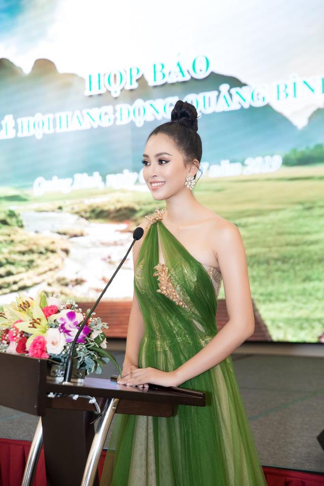 Hoa hậu Tiểu Vy hào hứng trở thành Đại sứ của Quảng Bình - Ảnh 5.