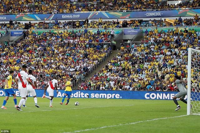 ẢNH: Jesus nhận thẻ đỏ, Brazil vẫn vô địch Copa America sau 12 năm chờ đợi - Ảnh 3.