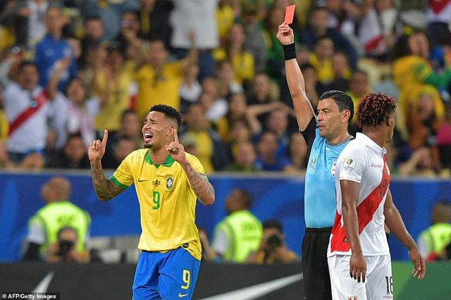 ẢNH: Jesus nhận thẻ đỏ, Brazil vẫn vô địch Copa America sau 12 năm chờ đợi - Ảnh 12.