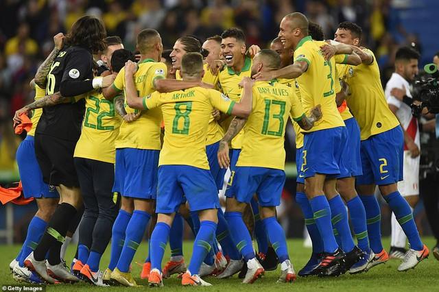 ẢNH: Jesus nhận thẻ đỏ, Brazil vẫn vô địch Copa America sau 12 năm chờ đợi - Ảnh 18.