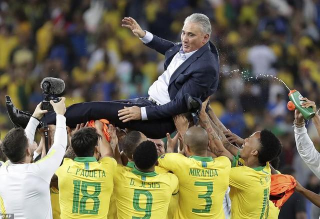 ẢNH: Jesus nhận thẻ đỏ, Brazil vẫn vô địch Copa America sau 12 năm chờ đợi - Ảnh 17.