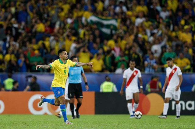 ẢNH: Jesus nhận thẻ đỏ, Brazil vẫn vô địch Copa America sau 12 năm chờ đợi - Ảnh 10.