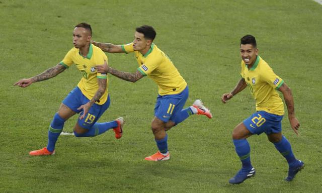 ẢNH: Jesus nhận thẻ đỏ, Brazil vẫn vô địch Copa America sau 12 năm chờ đợi - Ảnh 4.