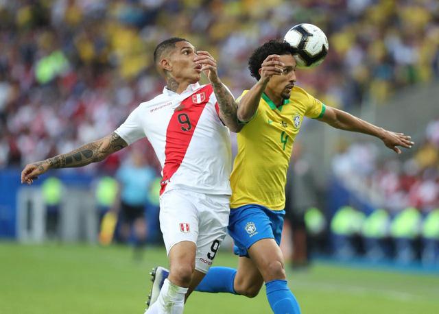 ẢNH: Jesus nhận thẻ đỏ, Brazil vẫn vô địch Copa America sau 12 năm chờ đợi - Ảnh 1.