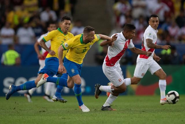 ẢNH: Jesus nhận thẻ đỏ, Brazil vẫn vô địch Copa America sau 12 năm chờ đợi - Ảnh 5.