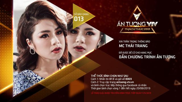 Thái Trang - MC nhỏ tuổi nhất VTV6 lọt đề cử VTV Awards 2019 - Ảnh 1.
