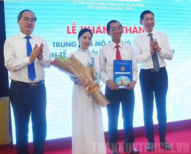TP.HCM khánh thành Trung tâm mô phỏng và dự báo kinh tế - xã hội - Ảnh 1.
