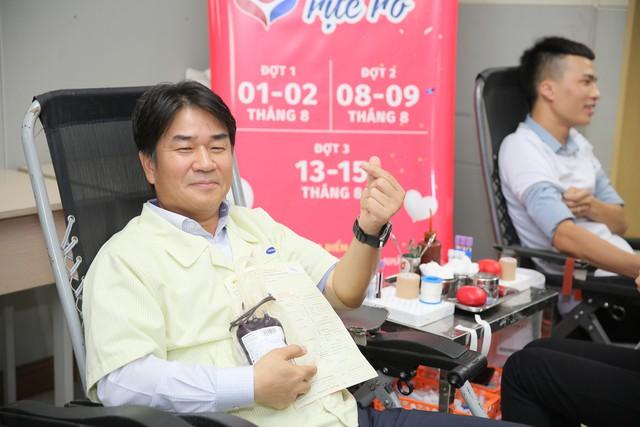 Hơn 3.300 đơn vị máu được hiến tặng tại chương trình Chung dòng máu VIệt 2019 - Ảnh 1.