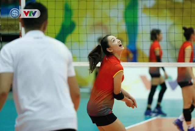 VTV Cup 2019: Buổi tập tràn đầy tiếng cười của ĐT bóng chuyền nữ Việt Nam - Ảnh 13.