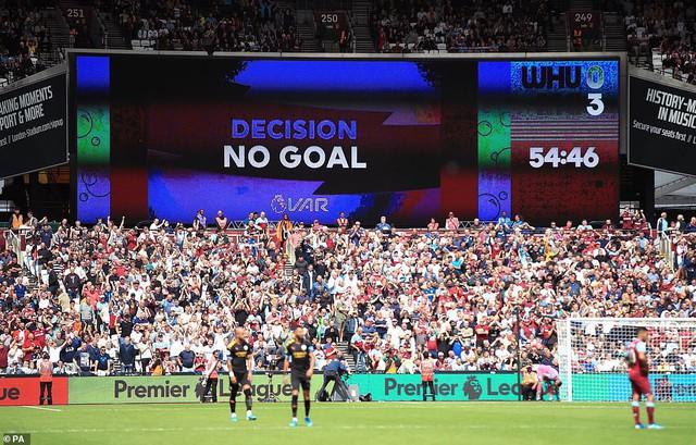 Vòng 1 Ngoại hạng Anh: Bị VAR khước từ, Man City vẫn thắng dễ 5-0 trước West Ham - Ảnh 2.