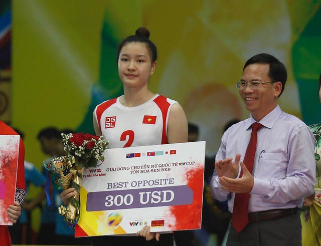Những danh hiệu xuất sắc của giải bóng chuyền VTV Cup Tôn Hoa Sen 2019 - Ảnh 5.