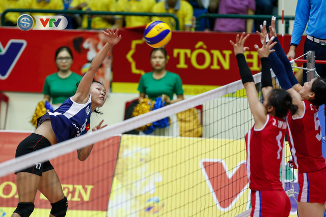 ẢNH: Ngược dòng ngoạn mục trước CHDCND Triều Tiên, ĐT Việt Nam tiến vào chung kết VTV Cup 2019 - Ảnh 12.