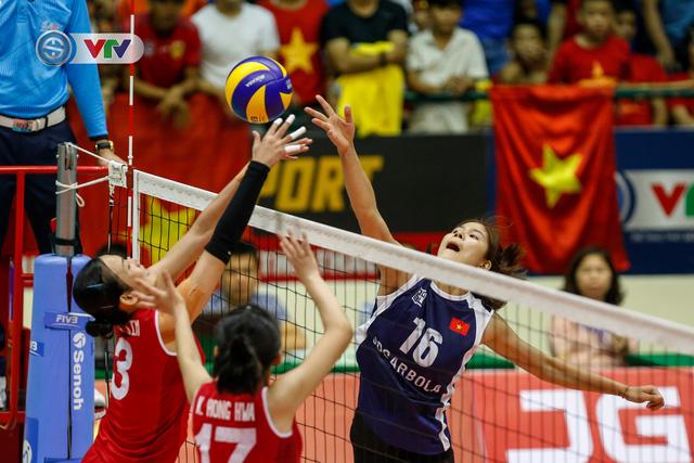 ẢNH: Ngược dòng ngoạn mục trước CHDCND Triều Tiên, ĐT Việt Nam tiến vào chung kết VTV Cup 2019 - Ảnh 15.
