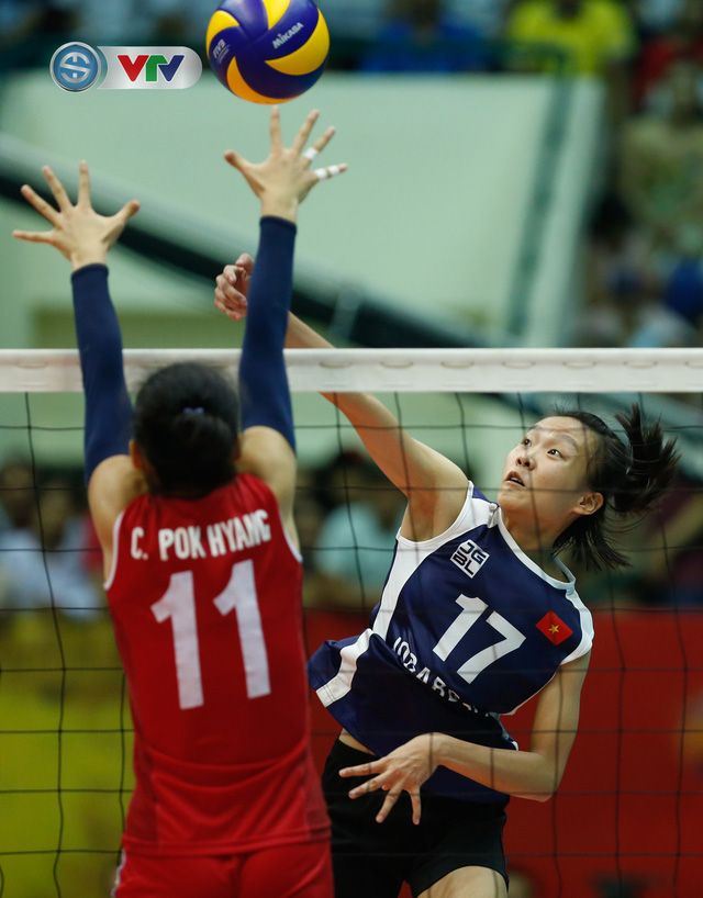ẢNH: Ngược dòng ngoạn mục trước CHDCND Triều Tiên, ĐT Việt Nam tiến vào chung kết VTV Cup 2019 - Ảnh 9.