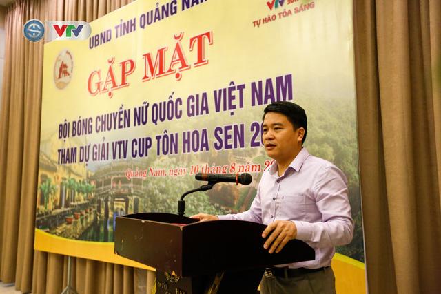 UBND tỉnh Quảng Nam gặp mặt động viên ĐT Bóng chuyền nữ Việt Nam - Ảnh 1.