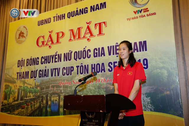 UBND tỉnh Quảng Nam gặp mặt động viên ĐT Bóng chuyền nữ Việt Nam - Ảnh 5.