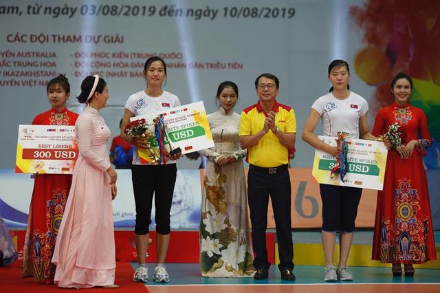 Những danh hiệu xuất sắc của giải bóng chuyền VTV Cup Tôn Hoa Sen 2019 - Ảnh 2.