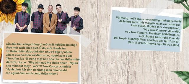 VTV True Concert -  bản hòa thanh của những thanh âm đến từ thiên nhiên - Ảnh 2.