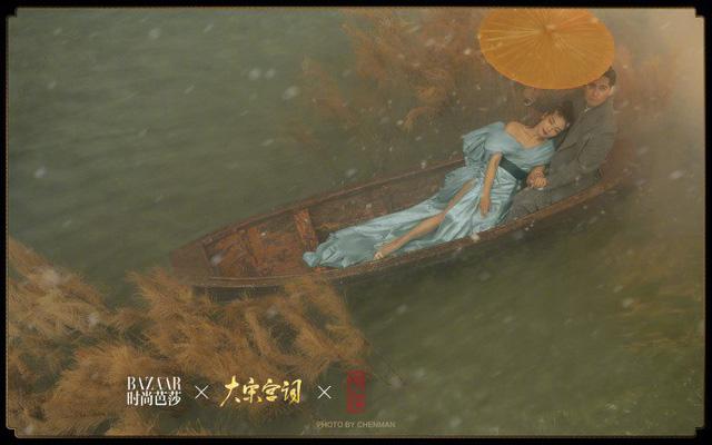 Châu Du Dân - Lưu Đào tung loạt ảnh quảng bá phim mới: Đẹp xuất sắc! - Ảnh 7.