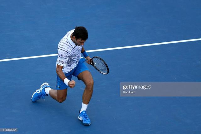 Cincinnati Masters 2019: Novak Djokovic khởi đầu thuận lợi! - Ảnh 1.
