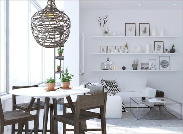 Ngắm những phòng ăn lịch lãm, mang phong cách hiện đại - Ảnh 6.