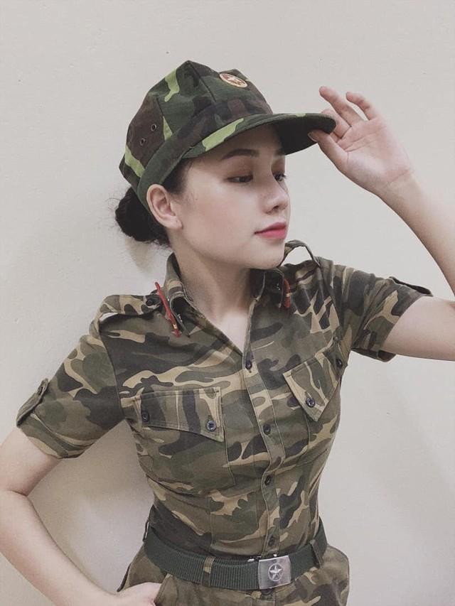 Nữ sinh trường quân đội xinh tựa sao Hàn - Ảnh 4.