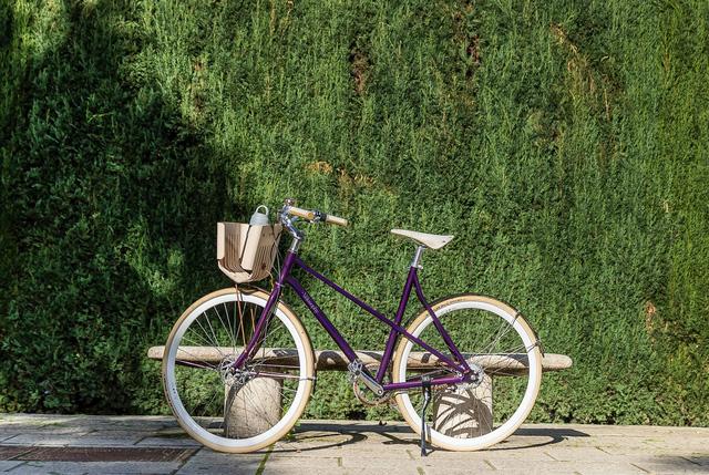 Xe đạp tái chế từ cà phê nén - Ảnh 1.