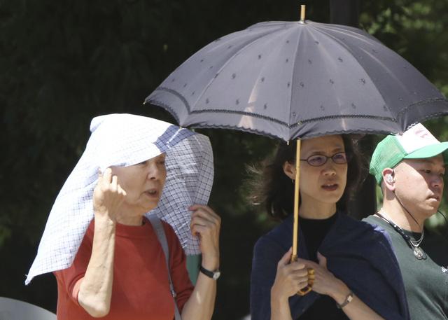 23 người tử vong do nắng nóng ở Nhật Bản - Ảnh 1.