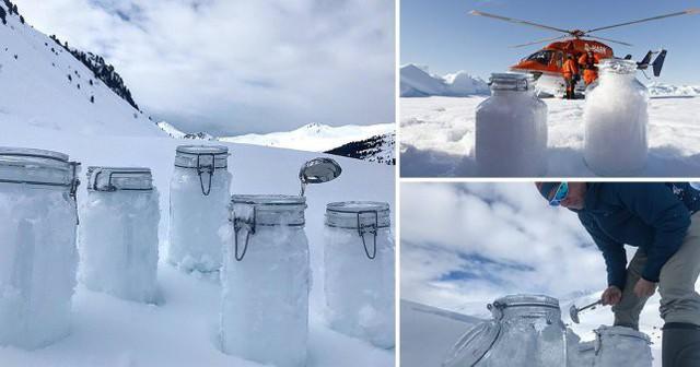 Nghiên cứu phát hiện ra tuyết trên Bắc cực chứa đầy hạt vi nhựa - Ảnh 3.