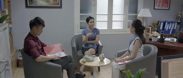 Những nhân viên gương mẫu - Tập 4: Qua mặt trưởng phòng, Chi (Kim Oanh) bị khiển trách sâu cay - ảnh 3