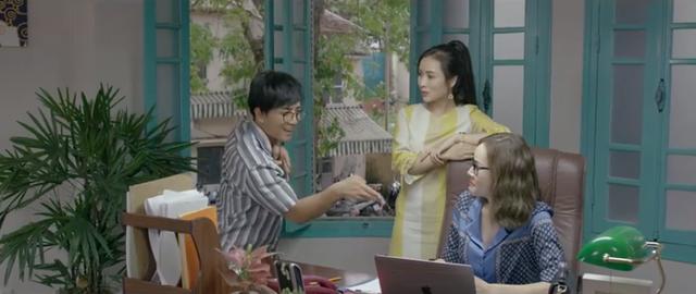 Những nhân viên gương mẫu - Tập 4: Qua mặt trưởng phòng, Chi (Kim Oanh) bị khiển trách sâu cay - ảnh 4