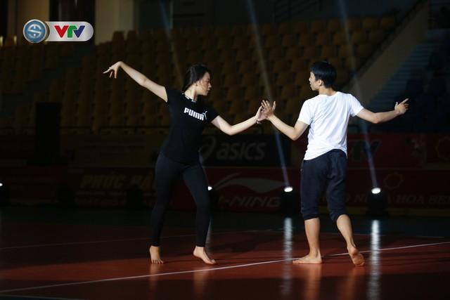Sơ duyệt lễ khai mạc Giải bóng chuyền nữ quốc tế VTV Cup Tôn Hoa Sen 2019 - Ảnh 6.