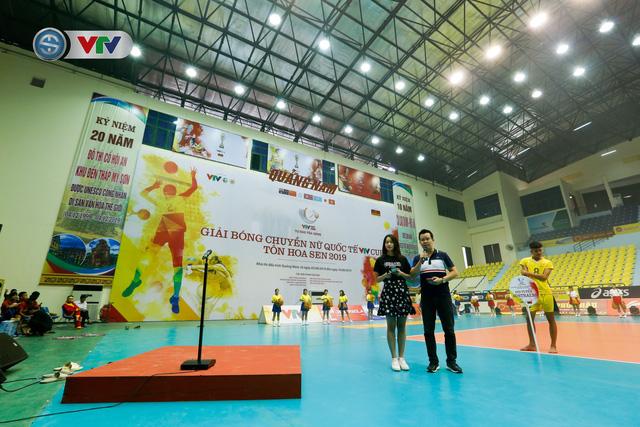 Sơ duyệt lễ khai mạc Giải bóng chuyền nữ quốc tế VTV Cup Tôn Hoa Sen 2019 - Ảnh 2.