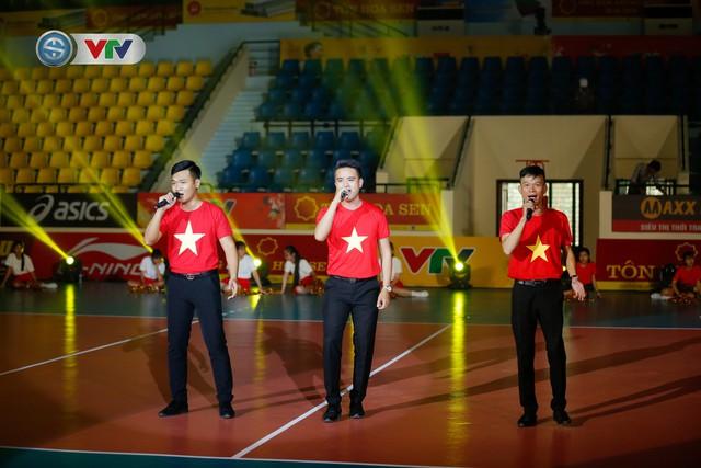 Sơ duyệt lễ khai mạc Giải bóng chuyền nữ quốc tế VTV Cup Tôn Hoa Sen 2019 - Ảnh 1.