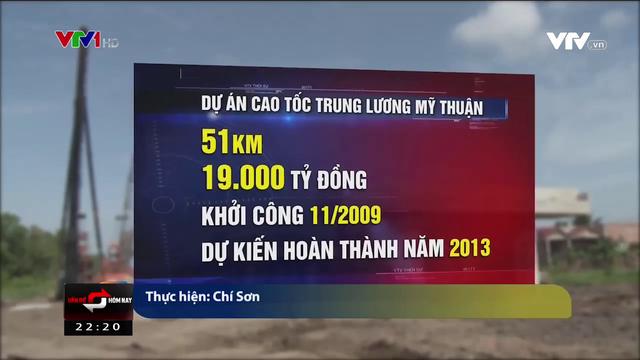 Cao tốc Trung Lương - Mỹ Thuận: 10 năm dở dang, lận đận - Ảnh 1.