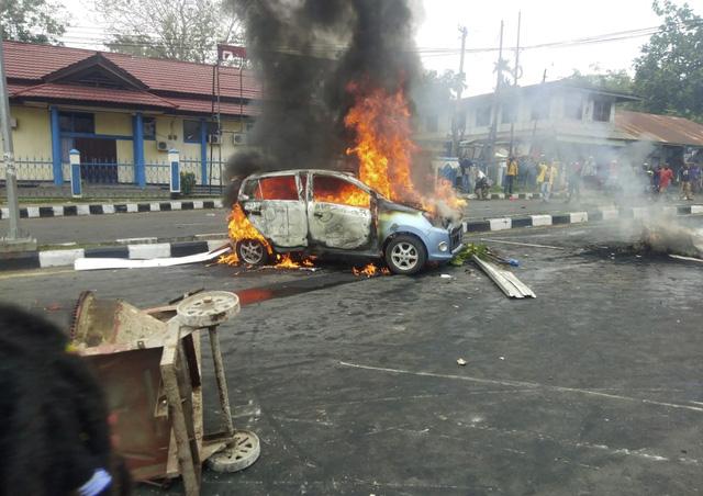 Bạo loạn bùng phát tại tỉnh Papua, Indonesia - Ảnh 2.