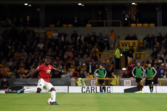 Wolverhampton 1-1 Manchester United: Pogba đá hỏng 11m, Manchester United chia điểm đáng tiếc - Ảnh 3.