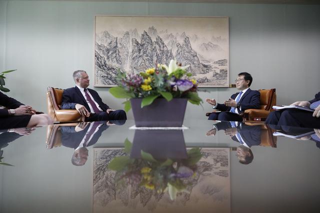 Mỹ - Hàn Quốc thảo luận về đàm phán hạt nhân với Triều Tiên - Ảnh 1.