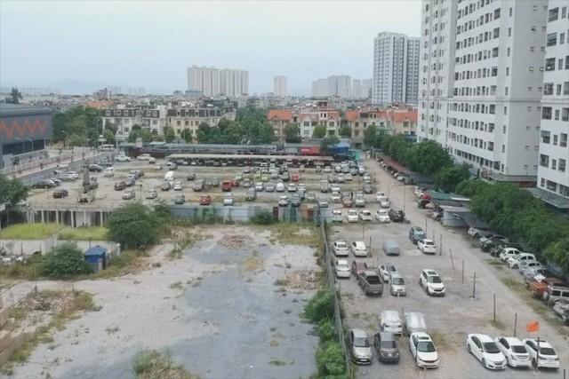 150 điểm trông giữ xe trái phép tại quận Hoàng Mai, Hà Nội - Ảnh 1.