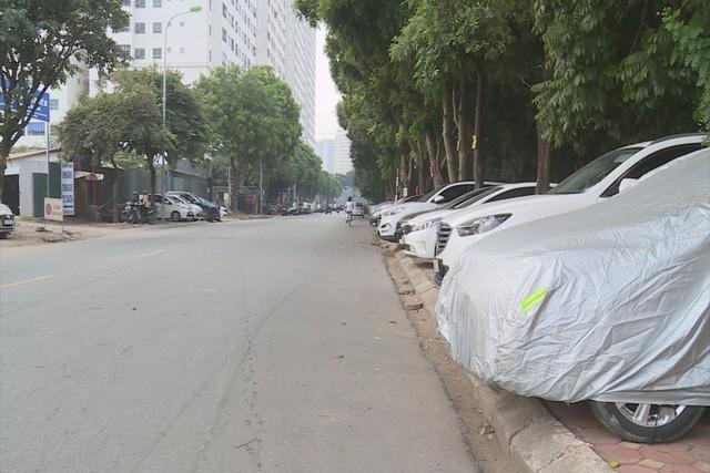 150 điểm trông giữ xe trái phép tại quận Hoàng Mai, Hà Nội - Ảnh 3.