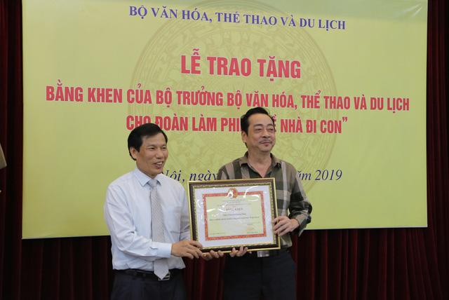 Ê-kíp Về nhà đi con vinh dự được Bộ trưởng Bộ Văn hóa, Thể thao và du lịch trao bằng khen - Ảnh 5.
