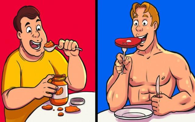 9 sai lầm ăn uống khiến bạn không thể giảm cân - Ảnh 1.