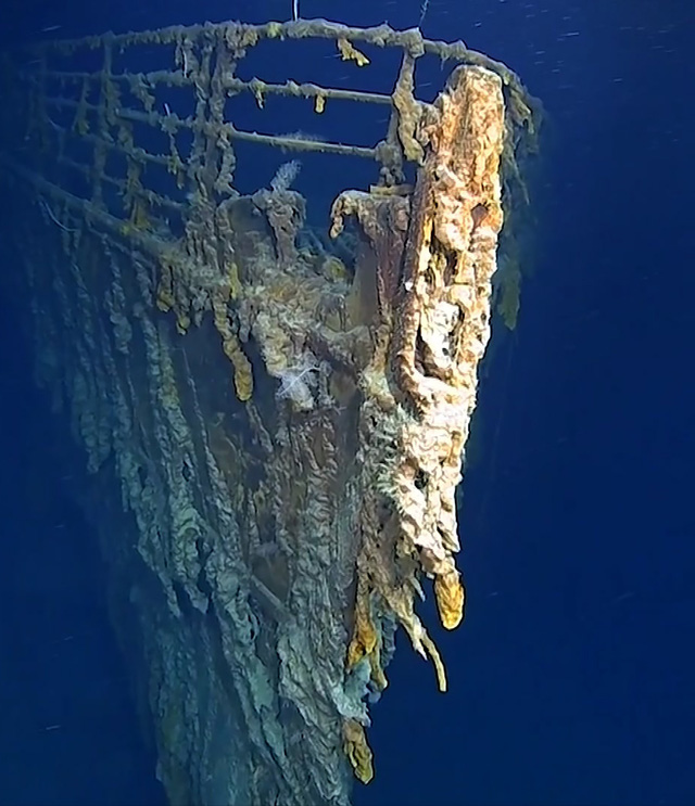 Hé lộ hình ảnh mới về con tàu Titanic lừng danh - Ảnh 2.