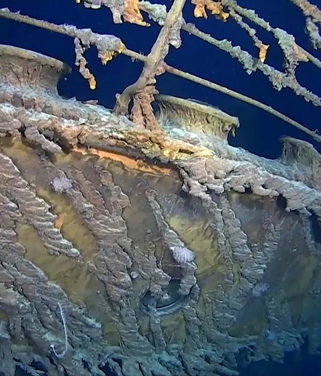 Hé lộ hình ảnh mới về con tàu Titanic lừng danh - Ảnh 1.
