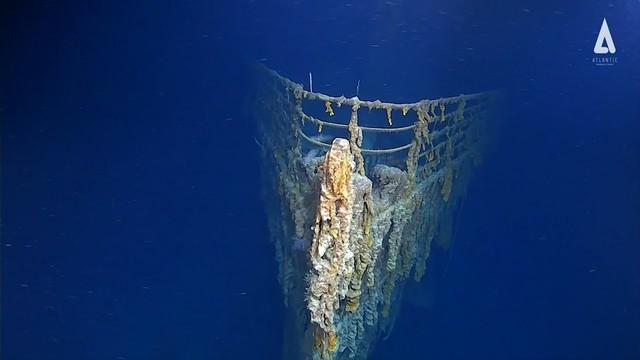 Hé lộ hình ảnh mới về con tàu Titanic lừng danh - Ảnh 3.