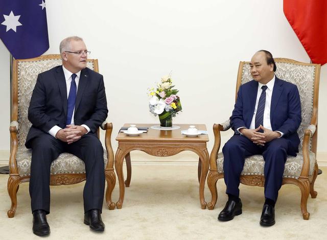 Thủ tướng Australia thăm chính thức Việt Nam - Ảnh 1.