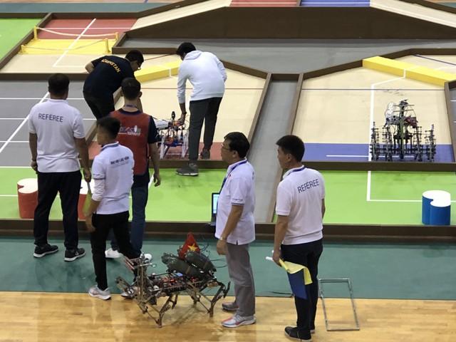 Sôi động không khí buổi thử sân tại ABU Robocon 2019 - Ảnh 12.