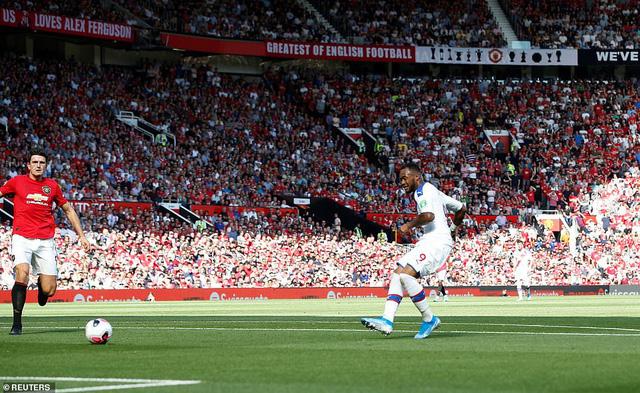 Manchester United 1-2 Crystal Palace: Rashford đá trượt penalty, Man Utd thua sốc trên sân nhà - Ảnh 2.